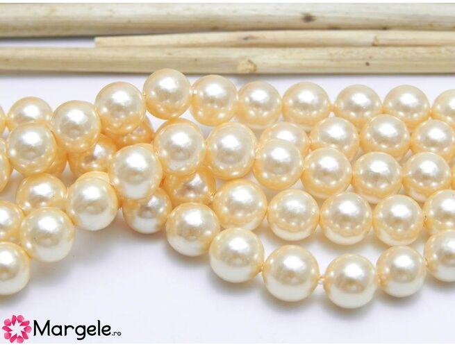 Perle tip mallorca 6mm caisa (1buc)