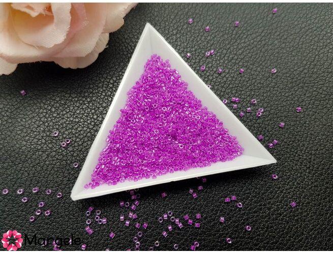 Miyuki delica 11/0 lined lilac ab (5g)