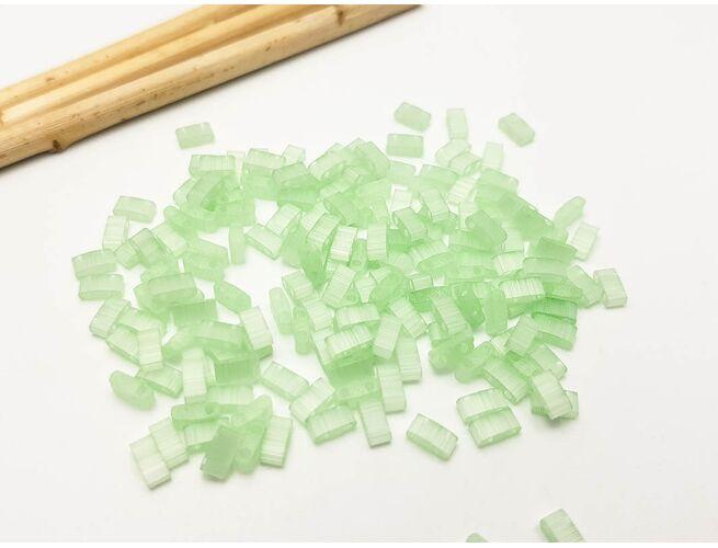 Miyuki Half Tila Silk Pale Green 5g