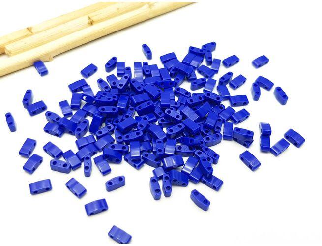 Miyuki Half Tila Opaque Cobalt 5g
